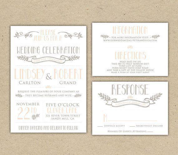 Wedding Invitations Rsvp | THERUNTIME.COM