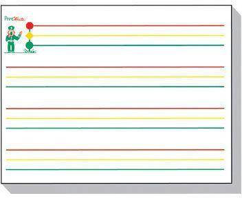 "Kurtz Bros Inc Printwrite Practice Paper 8.5"" x 11"", White (KB ..."