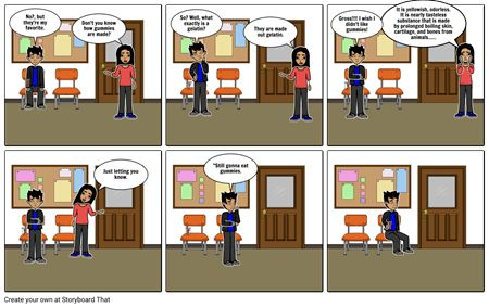 Example 1 Cognitive Dissonance Storyboard by volleyball_basketball