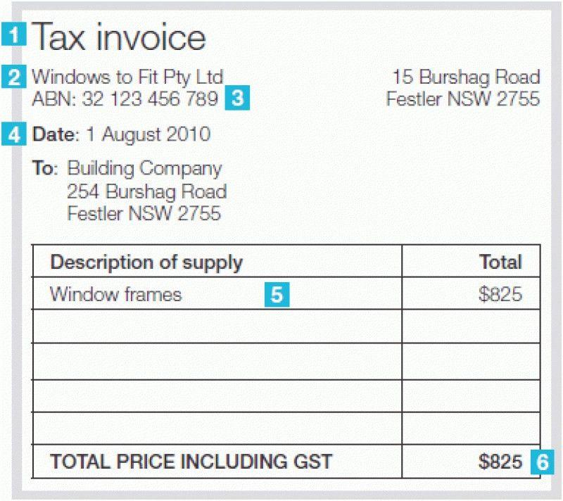 Word Doc Invoice Template | rabitah.net