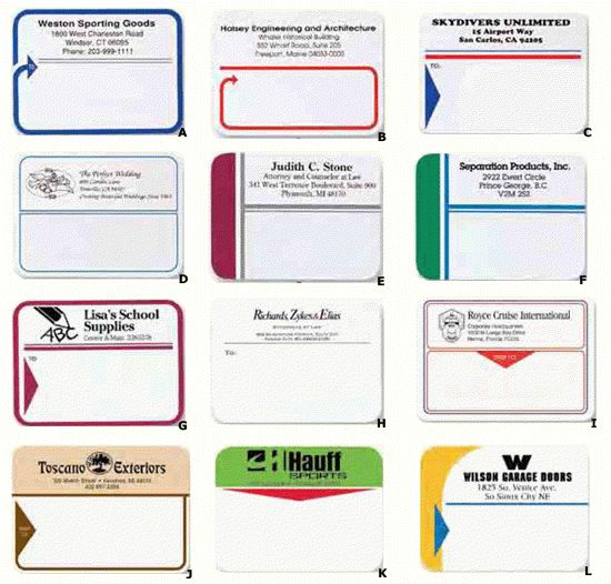 Shipping Labels - Custom Printed - Miami