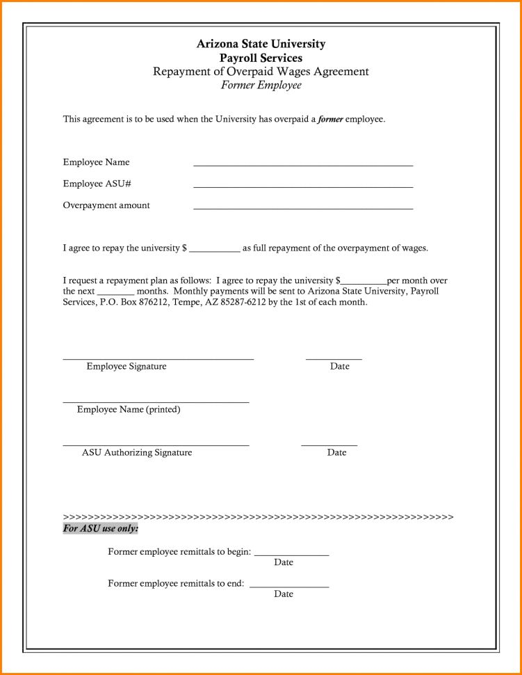 Employee Loan Agreement Template Uk Employee Loan Agreement ...