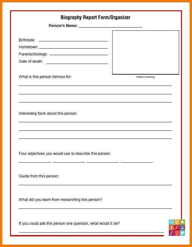 Biography Template. Author Biography Template Biography-Sample Jpg ...