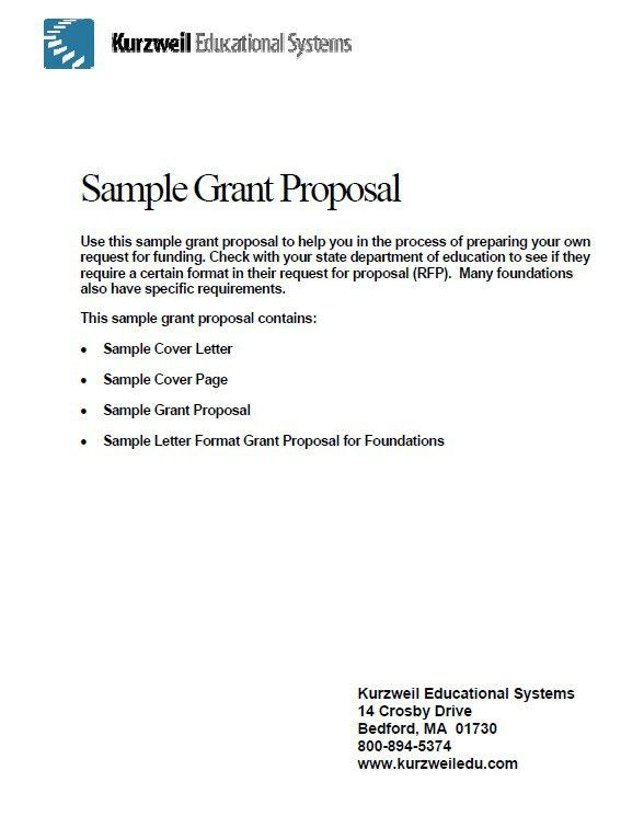 7 Free Funding Project Proposal Templates – Stationery Templates