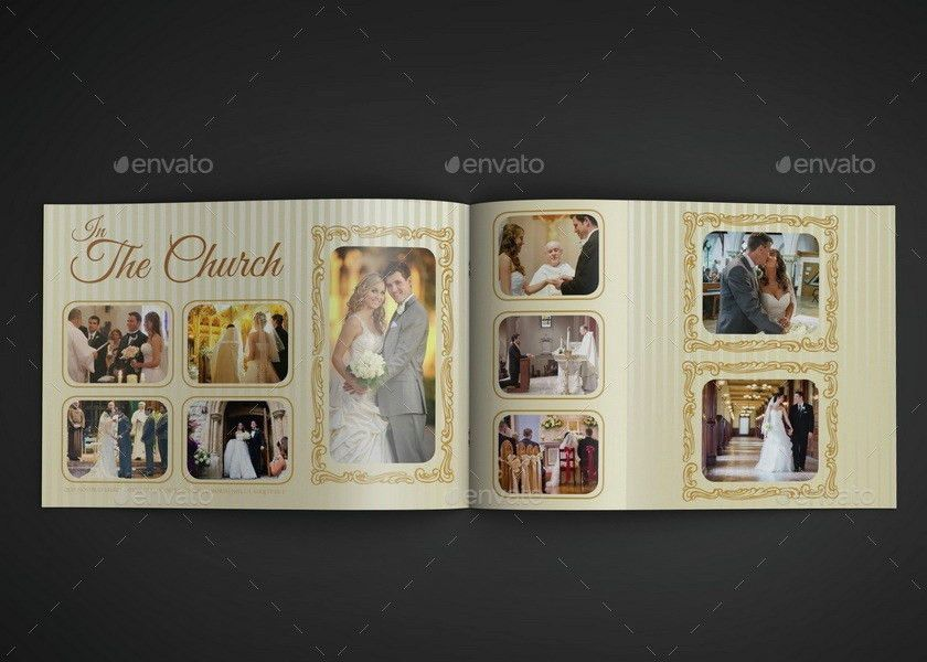 Wedding Album Template - 16 Pages by OWPictures | GraphicRiver