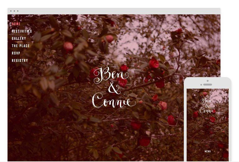 Squarespace Wedding Website | POPSUGAR Tech