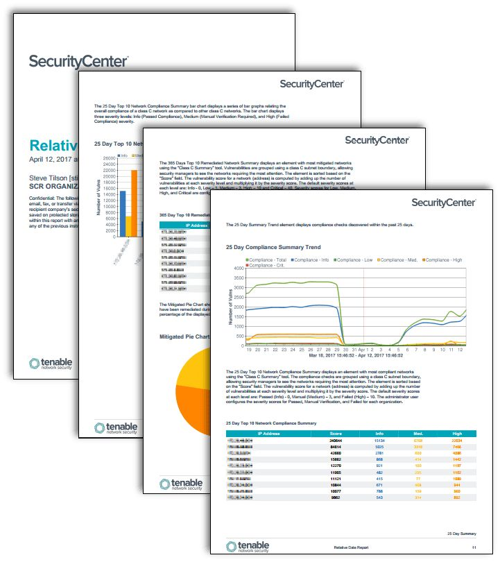 Relative Date Summary Report - SC Report Template | Tenable™