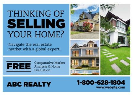 28 Brilliant Realtor Direct Mail Postcard Advertising Templates ...
