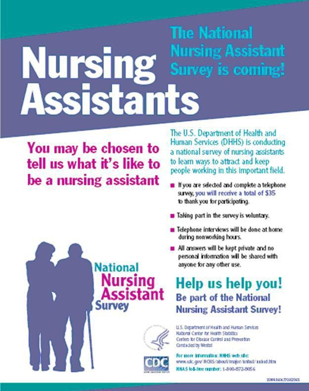 An Introduction to the National Nursing Assistant Survey | ASPE
