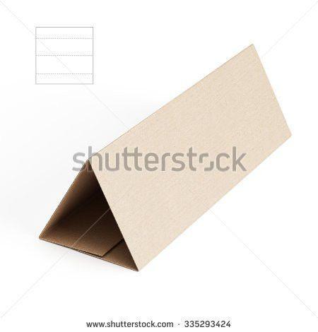 Square Sleeve Envelope Die Cut Template Stock Illustration ...