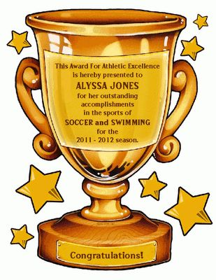 Sports Award Certificate - Congratulations Printable Card ...