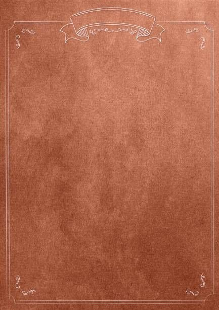 bronze texture blank paper background with retro border | likeagod ...