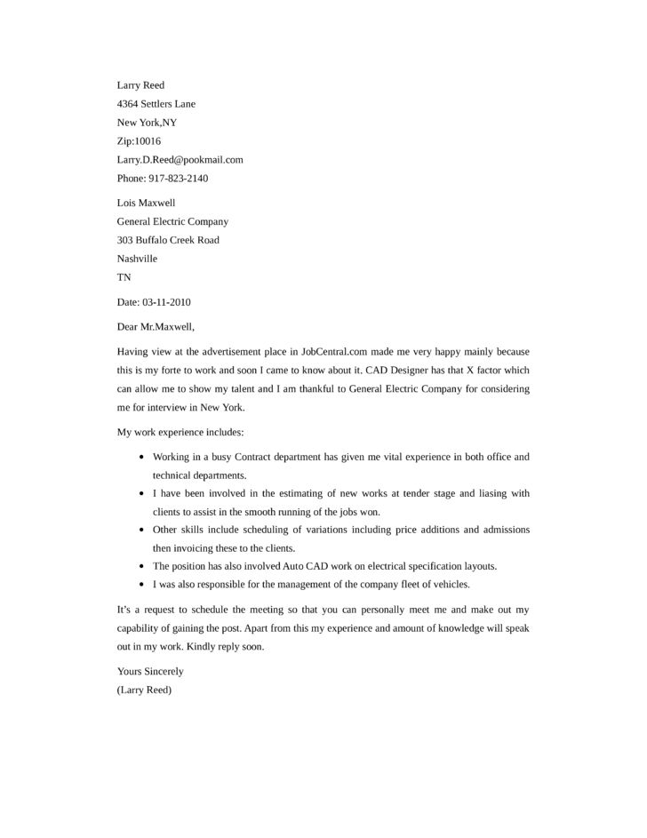 Cable Technician Cover Letter Samples and Templates