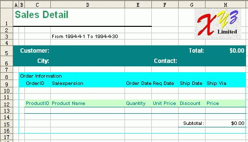 Excel Reporting Templates | Free Business Template