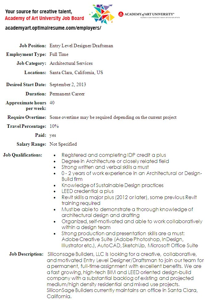 Solidworks Drafter Cover Letter