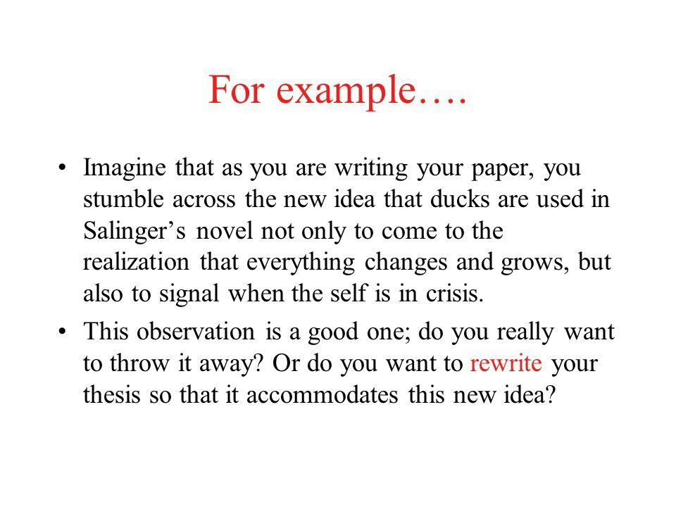Writing the Thesis Statement Ms. De La O. What is a thesis ...