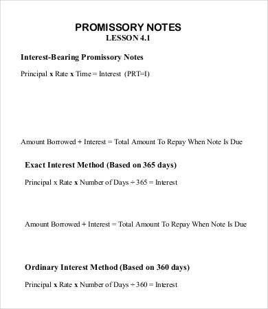 how to write a promissory note - thebridgesummit.co