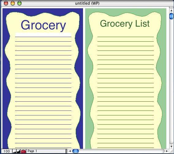 AppleWorks Screenshots