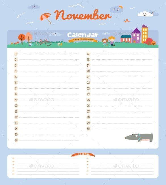 Birthday Calendar - 43+ Calendar Template | Free & Premium Templates