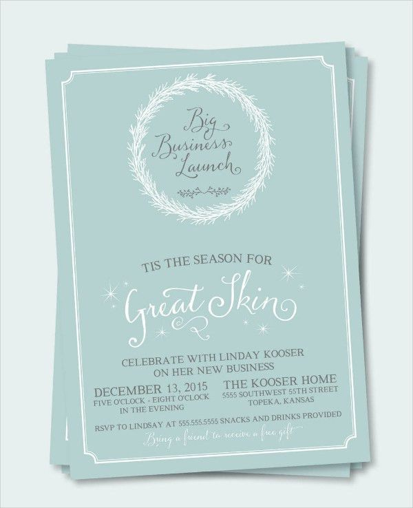 53+ Party Invitation Examples