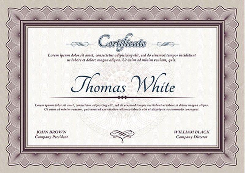 Graduation Certificate Templates - Creativetemplate | Creative ...