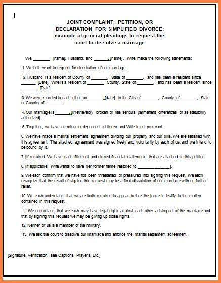 10+ free printable fake divorce papers | Divorce Paper