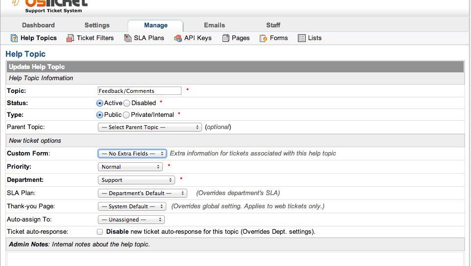 osTicket Features   osTicket