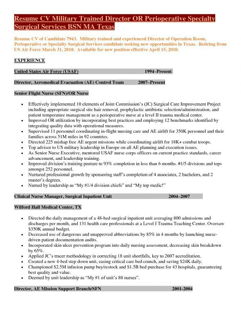 Military Resume Cover Letter Resume - Schoodie.com