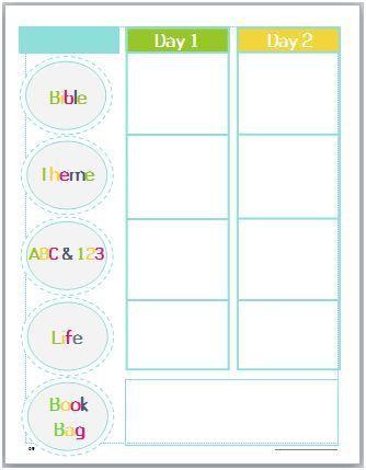 God's Little Explorers Preschool Curriculum - Kids Activities ...