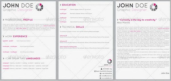 10+ Internship Resume Templates - Free PDF, Word, PSD