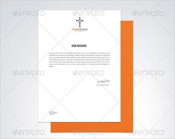 Sample Church Letterhead - 5+ Documents in PDF, PSD