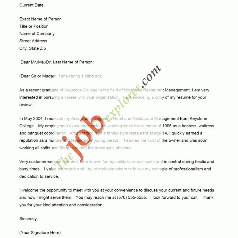How To Do A Resume Cover Letter | haadyaooverbayresort.com