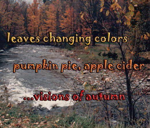 Example Of A Haiku Poem About Autumn | MyPoems.Co