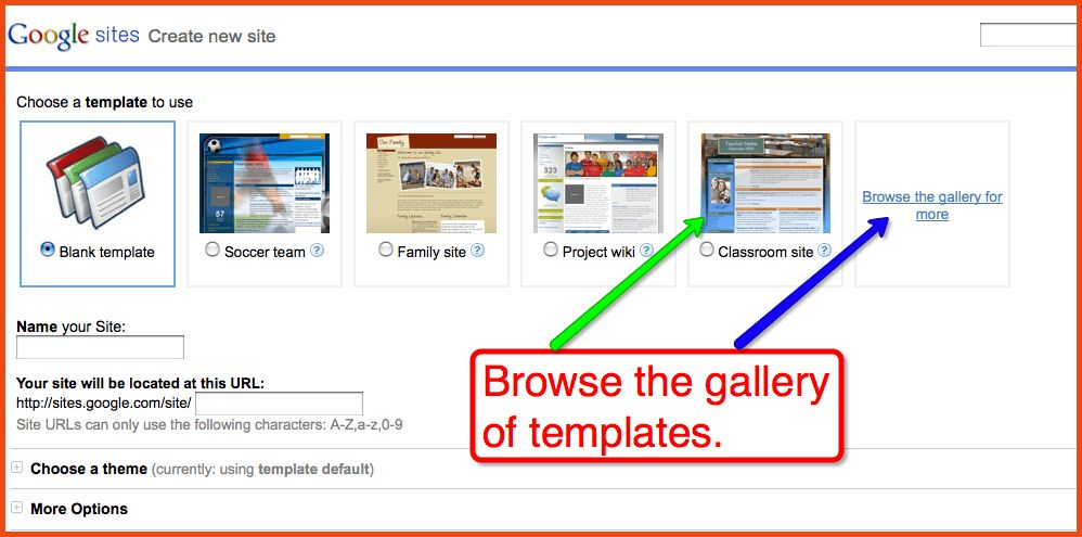 Google Sites Templates.google Sites Templates Classroom Theme.png ...