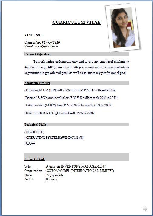Nice Inspiration Ideas Latest Resume Format 13 10 Best Free Resume ...