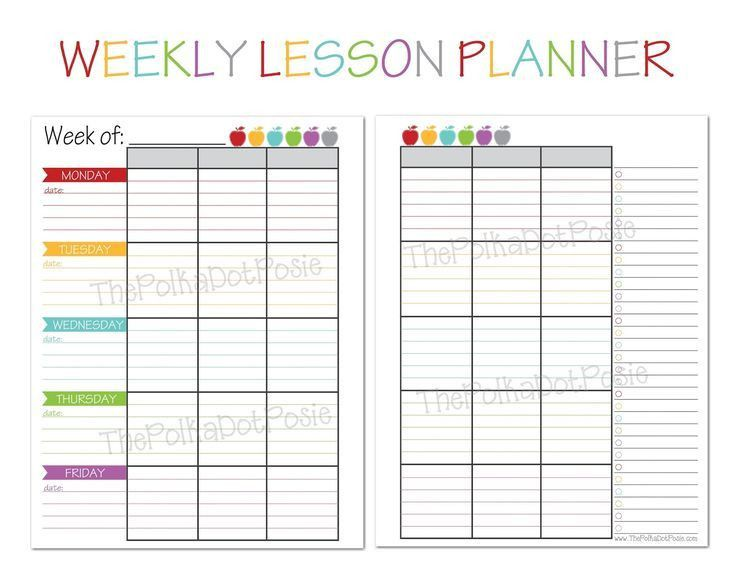 Best 25+ Day planner template ideas on Pinterest | Agenda planner ...