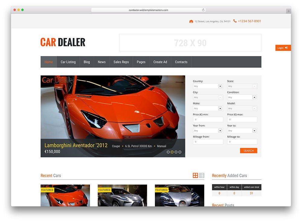 Top 20 Car / Automotive WordPress Themes 2017 - Colorlib