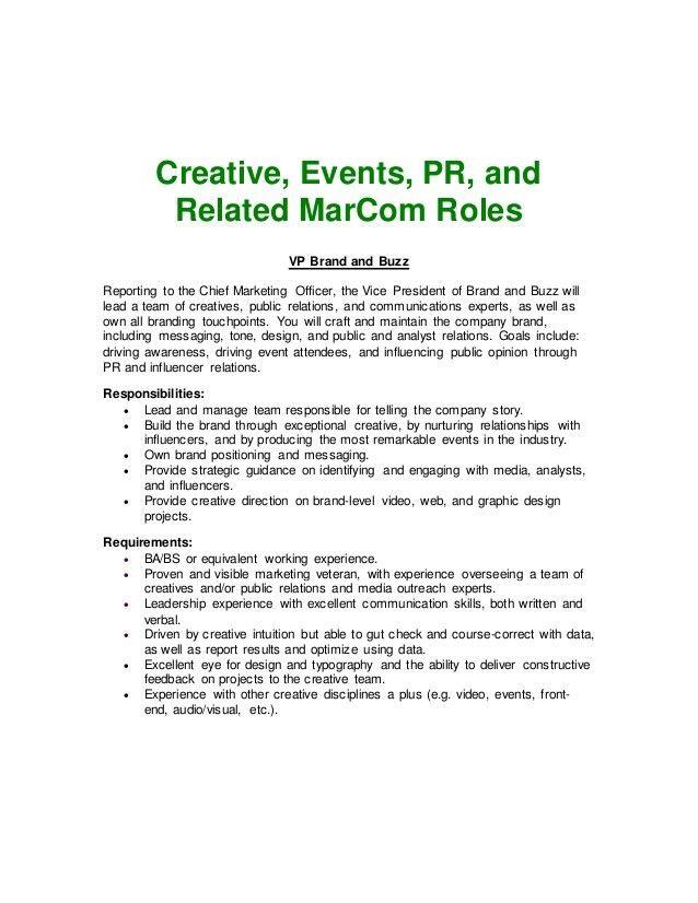 37 Marketing Job Descriptions HubSpot