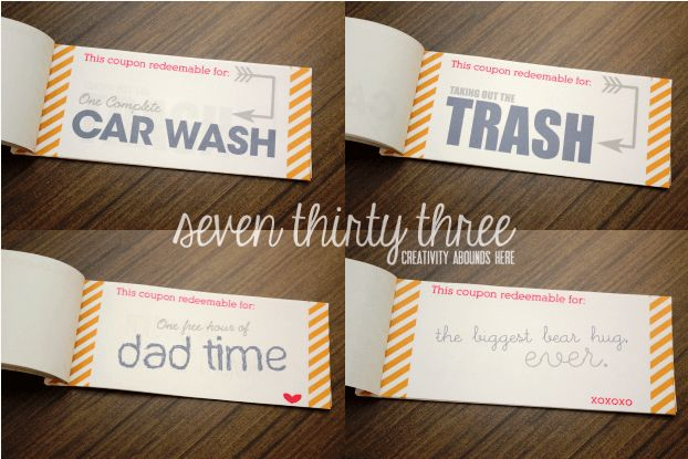 DIY Coupon Book Free Printable - Inspiration Made Simple