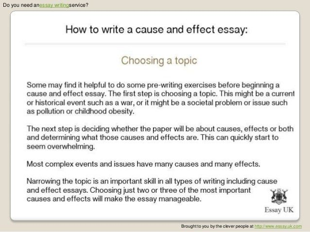 causes and effects of obesity essay