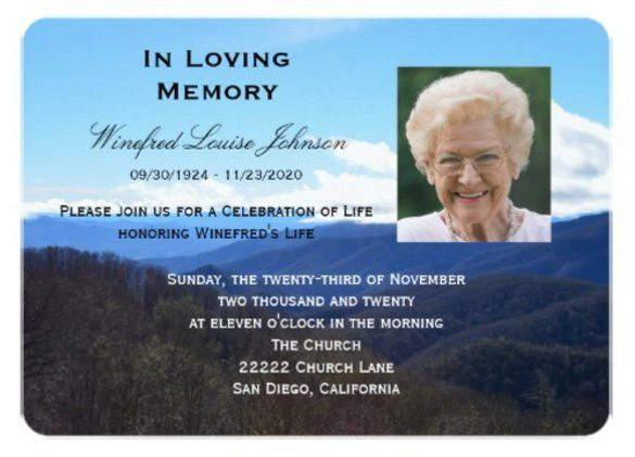 memorial service invitation - thebridgesummit.co