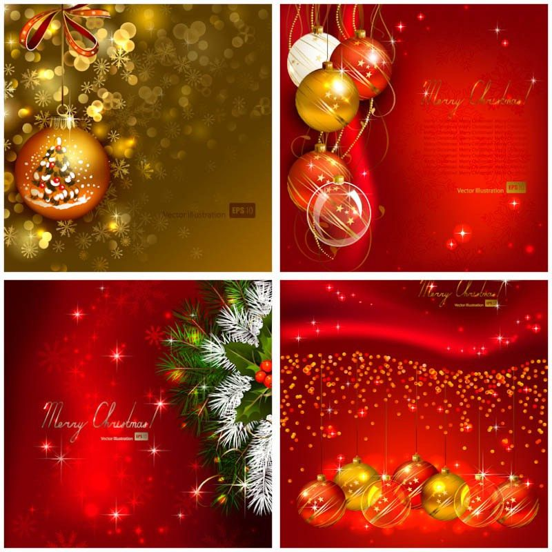 New Year 2012 holiday cards vector | Vector Graphics Blog