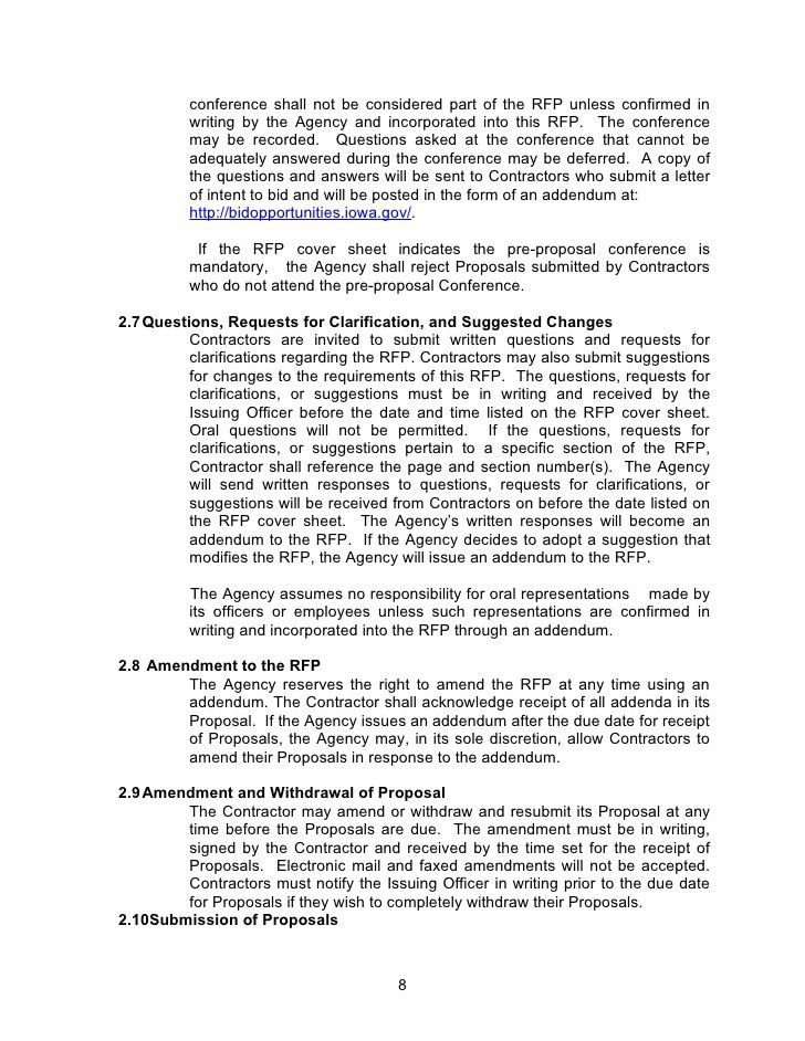 rfp cover letter examples lafolia eu for rfp cover letter. full ...