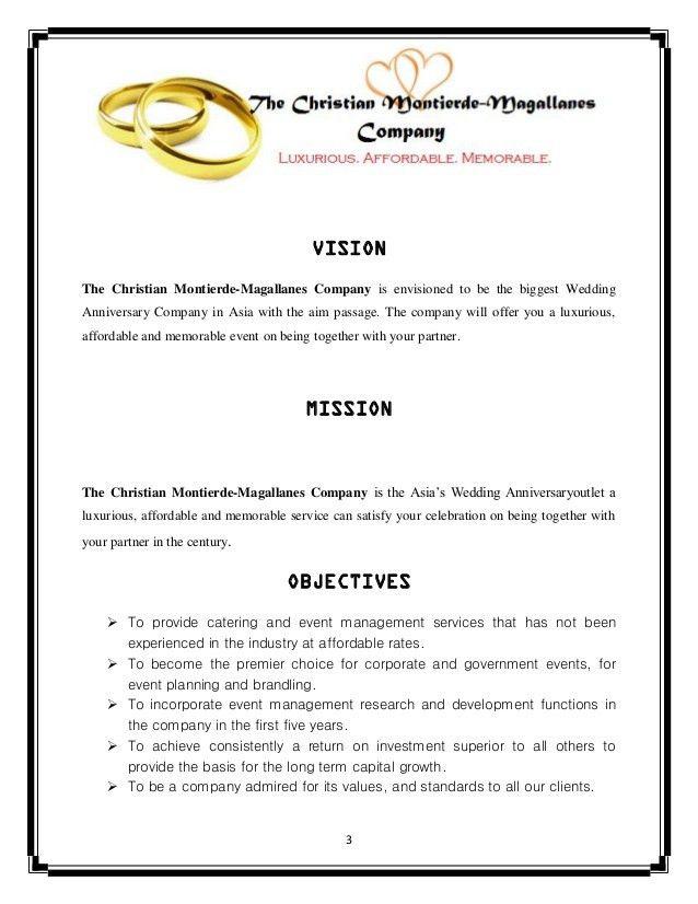 An Event Proposal: Wedding Anniversary Proposal