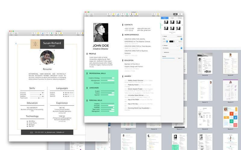 Extraordinary Design Ideas Apple Pages Resume Template 2 Apple ...