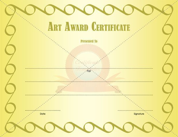 15 best Certificate templates images on Pinterest | Certificate ...