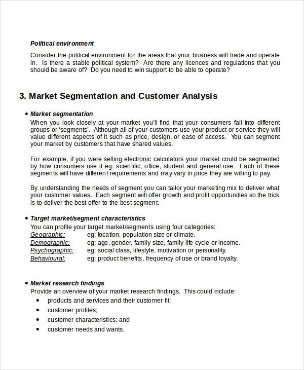 Customer Analysis Templates -8+ Free Word, PDF Document Download ...