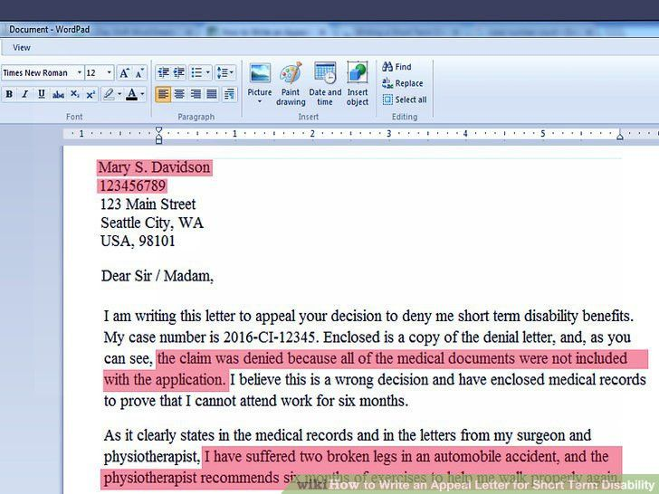 sample medical appeal letter. sample letter of medical necessity ...