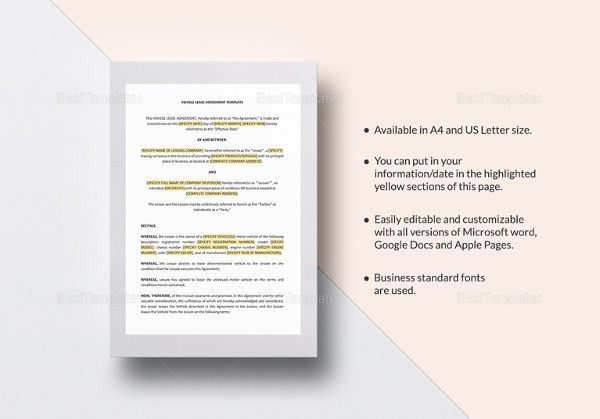 16+ Word Rental Agreement Templates Free Download | Free & Premium ...