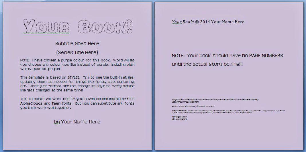 Children's Book Template | Template Design
